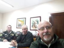Importante reunión con el Comando de Prevención Rural