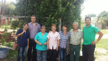 Profesionales del hospital Unzué visitaron Roque Pérez
