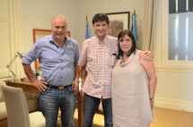 Reunión con la Ministra de Gobierno provincial García