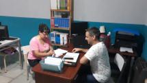 Reunión con el director del Centro de Formación Profesional Nº 401